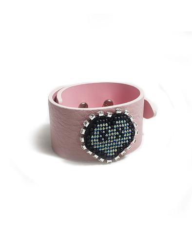 XOXO leather bracelet_PK