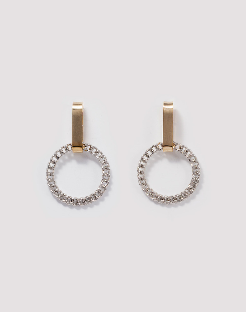 Emily Chain ring Earring