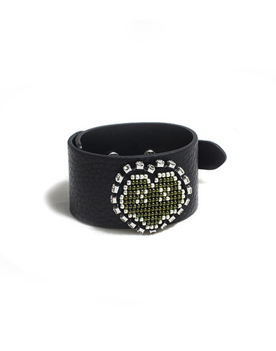 XOXO leather bracelet